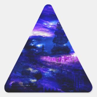 Adesivo Triangular Sonhos Amethyst de Bali da safira