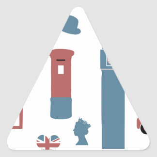 Adesivo Triangular Special de Londres