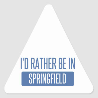 Adesivo Triangular Springfield OH