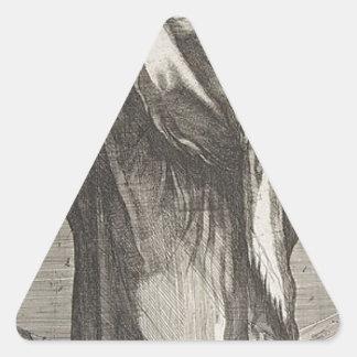 Adesivo Triangular St Andrew