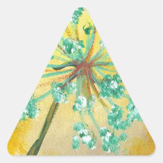 Adesivo Triangular starburst