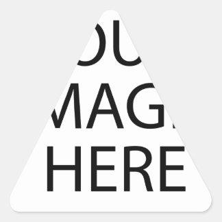 Adesivo Triangular Sua imagem aqui