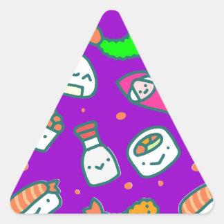 Adesivo Triangular Sushi Moki