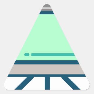 Adesivo Triangular Tela de visão