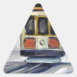 Adesivo Triangular Teleférico de San Francisco