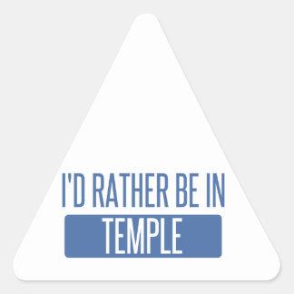 Adesivo Triangular Templo