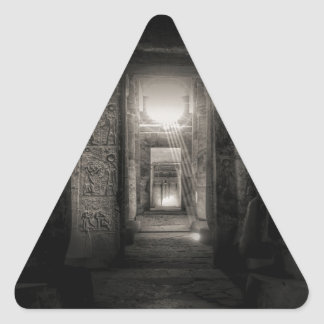 Adesivo Triangular Templo Abydos de Seti I