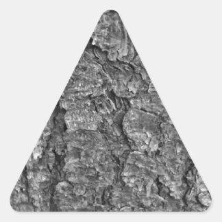 Adesivo Triangular Textura de madeira