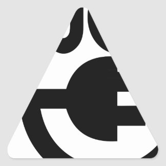 Adesivo Triangular tomada