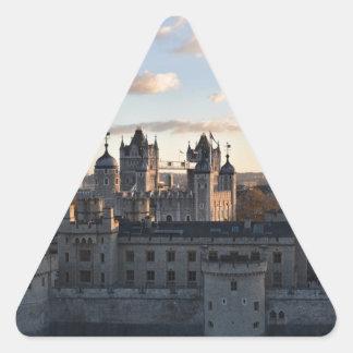 Adesivo Triangular Torre de Londres