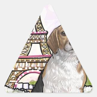 Adesivo Triangular torre Eiffel Paris do lebreiro