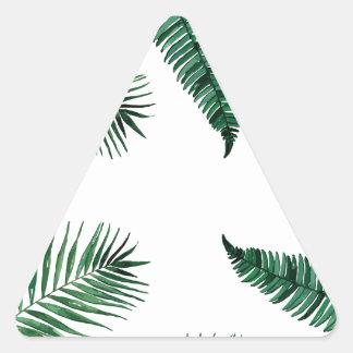 Adesivo Triangular tropical