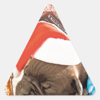 Adesivo Triangular Tudo que eu quero para o Natal é você