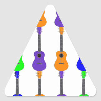 Adesivo Triangular Ukuleles