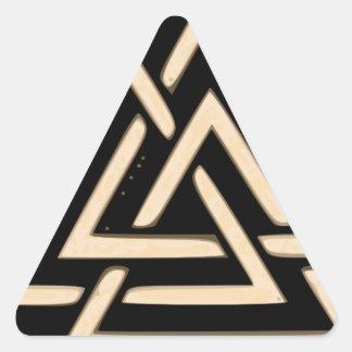 Adesivo Triangular Valknut
