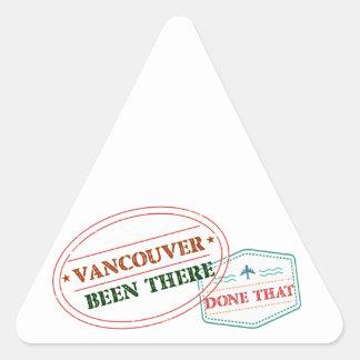 Adesivo Triangular Vancôver feito lá isso