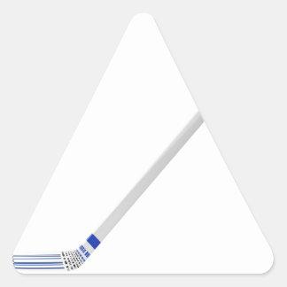 Adesivo Triangular Vara de hóquei em gelo