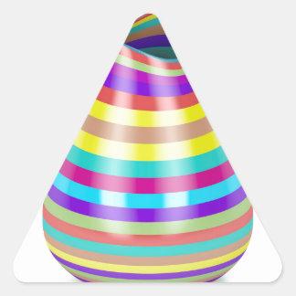 Adesivo Triangular Vaso listrado