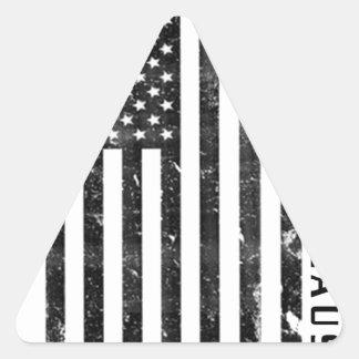 Adesivo Triangular vestir sua causa