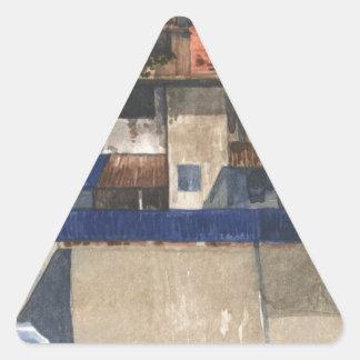 Adesivo Triangular Vila vertical @ Phnom Penh