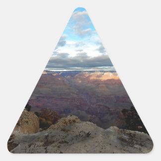 Adesivo Triangular Vista panorâmica do Grand Canyon