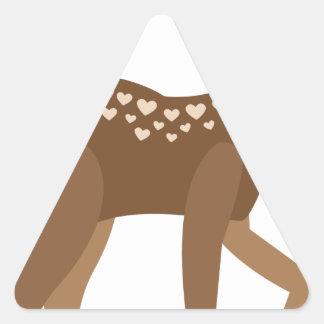 Adesivo Triangular VOCÊ é-me CERVO
