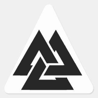 Adesivo Triangular Volknot