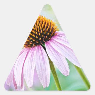 Adesivo Triangular Wildflowers roxos