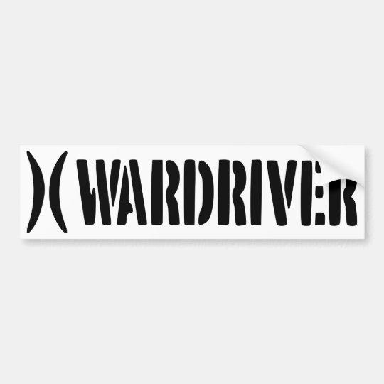 Adesivo Wardriver