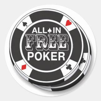 Adesivos Free Poker