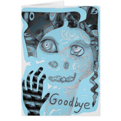 Adeus cartão por Anjo Lafin