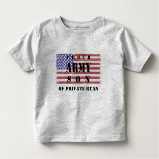 Adicione a camisa orgulhosa conhecida do filho do tshirts
