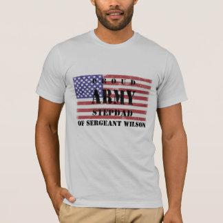 Adicione a camisa orgulhosa conhecida do Stepdad