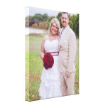 Adicione a foto do casamento ou as outras 'canvas  impressão em tela