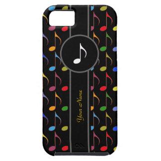 adicione notas conhecidas/coloridas da música capa para iPhone 5