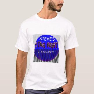 Adicione o VEADO que conhecido a NOITE adiciona o Camiseta