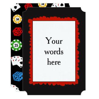 Adicione palavras todo o convite de festas do