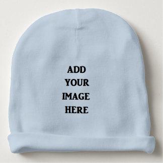 Adicione seu Beanie do bebê azul da imagem aqui Gorro Para Bebê