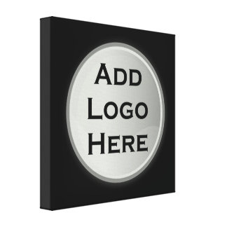 Adicione seu presente incorporado do logotipo impressão em tela