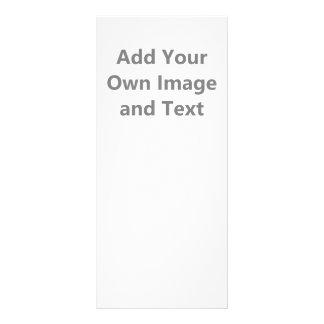 Adicione seus próprios imagem e texto panfleto informativo personalizado