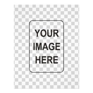 Adicione seus texto e/ou imagens flyer 21.59 x 27.94cm