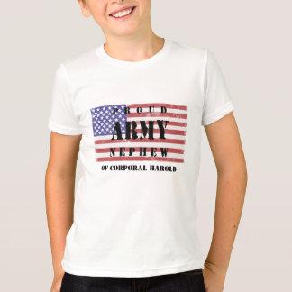 Adicione sua camisa orgulhosa conhecida do