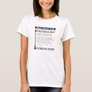 Adicione sua data: Fuga da costa oeste Camiseta