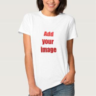 Adicione sua imagem para personalizar camisetas