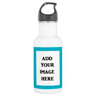 Adicione sua própria garrafa de água da imagem