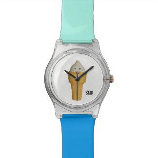 Adicione suas iniciais - relógio feito sob