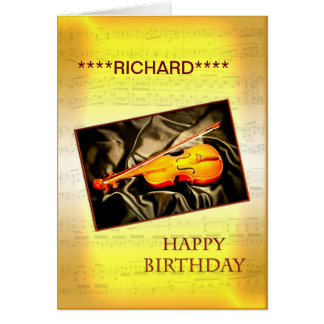 Adicione um nome a este cartão de aniversário com