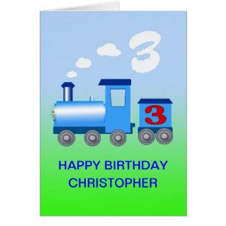 Adicione um nome a um cartão de aniversário de 3