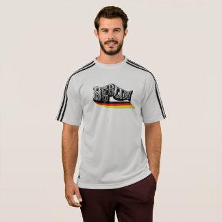 _Adidas alpargata Berlim para Homem Ônix/Preto Camiseta