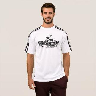 Adidas de Shirt skater em de Weis para homens Camiseta